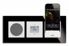Busch-Jaeger digitales Radio mit idock/WLAN-Internet Radio